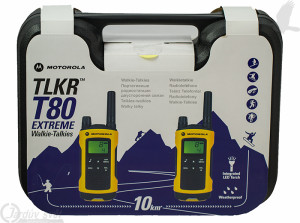 Vysílačky Motorola TLKR T80 Extreme Travel pack