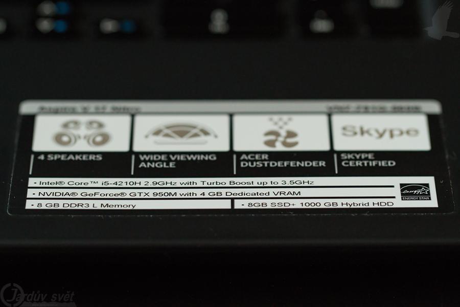 Acer Aspire V 17 Nitro