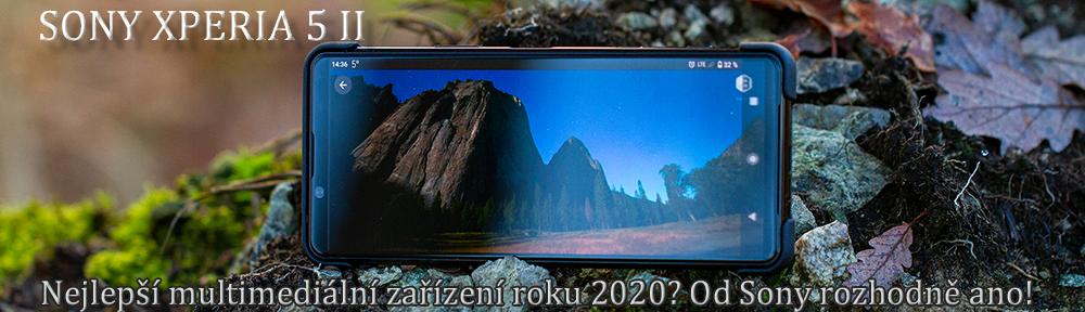 Sony Xperia 5 II - panel stránky